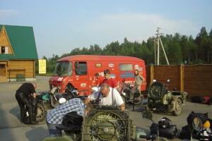 Inbetriebnahme der Fahrzeuge